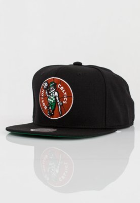 Czapka Snapback Mitchell & Ness NBA Wool Solid Boston Celtics