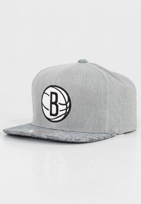 Czapka Snapback Mitchell & Ness NBA Cracked Brooklyn Nets