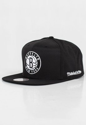 Czapka Snapback Mitchell & Ness NBA Black Riptop Honeycomb Brooklyn Nets