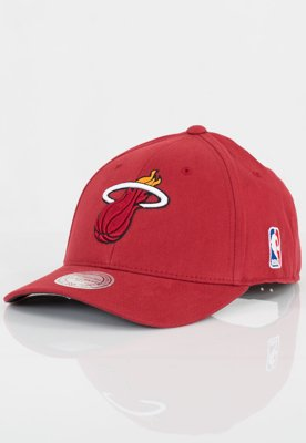 Czapka Flexfit Mitchell & Ness NBA 110 Low Pro Miami Heat