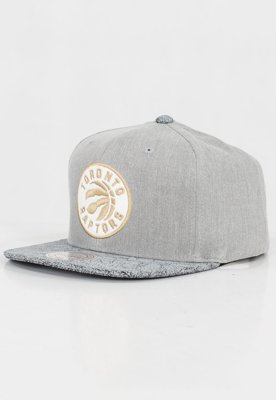 Czapka Snapback Mitchell & Ness NBA Cracked Toronto Raptors