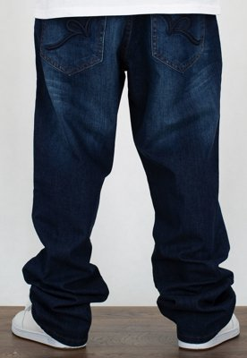 Spodnie Rocawear Crime Jeans Mid Blue