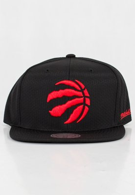 Czapka Snapback Mitchell & Ness NBA Black Riptop Honeycomb Toronto Raptors