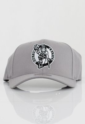 Czapka Flexfit Mitchell & Ness NBA Gull Grey 110 Boston Celtics