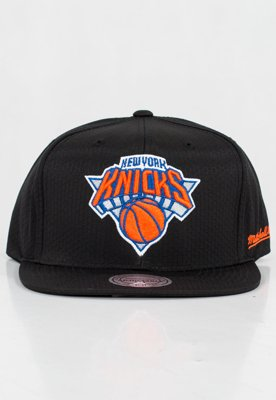 Czapka Snapback Mitchell & Ness NBA Black Riptop Honeycomb Knicks