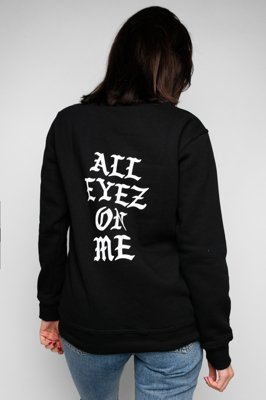 Bluza Diamante Wear All Eyez On Me Unisex czarna