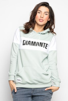 Bluza Diamante Wear Mint Block miętowa