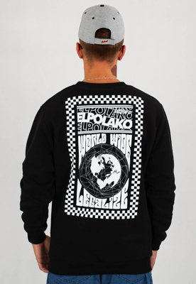 Bluza El Polako World Wide czarny