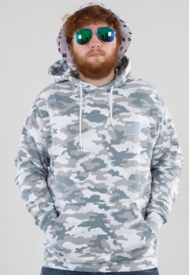 Bluza Ganja Mafia GM Flag winter camo