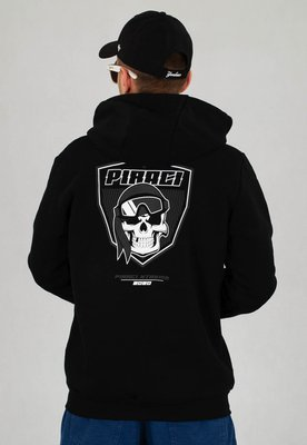Bluza Ganja Mafia Piraci Reflect Zip czarna