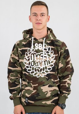 Bluza Mass Base woodland camo