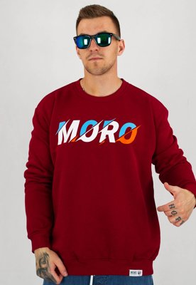 Bluza Moro Sport Moro Cutting bordowa