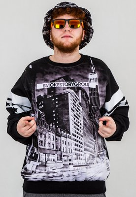 Bluza SSG Black City czarna