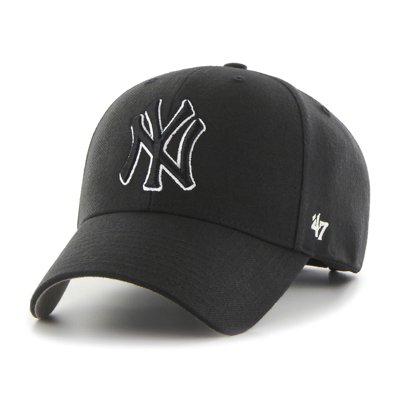 Czapka 47 Brand MVP New York Yankees czarna