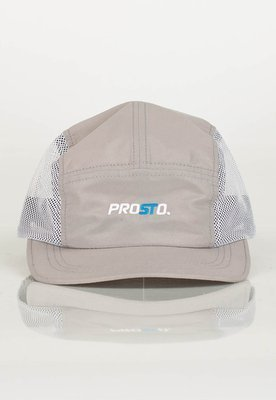 Czapka 5 Panel Prosto Netting szara