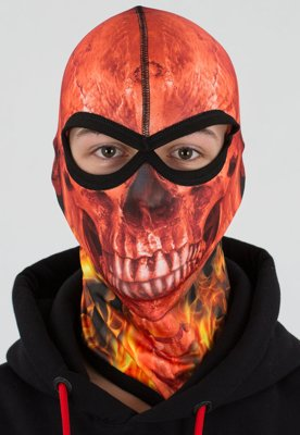 Kominiarka Klasyk Sublimowana Skull Red