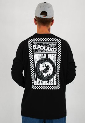 Longsleeve El Polako Wide World czarny