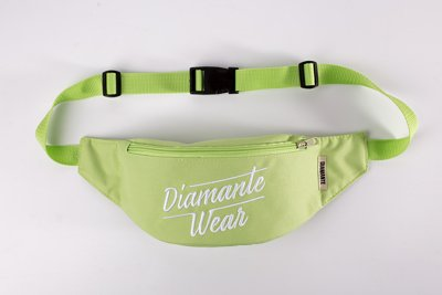 Nerka Diamante Wear Diamante Logo BIG jasno zielona