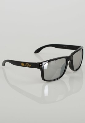 OUTLET Okulary Red Eyes King Freestyle czarno srebrne K414Z