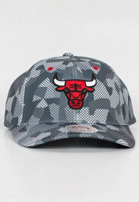 Snap Mitchell & Ness NBA Carbon Camo Flexfit Chicago Bulls