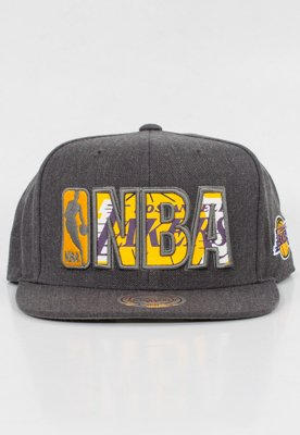 Snap Mitchell & Ness NBA Insider Reflective LA Lakers