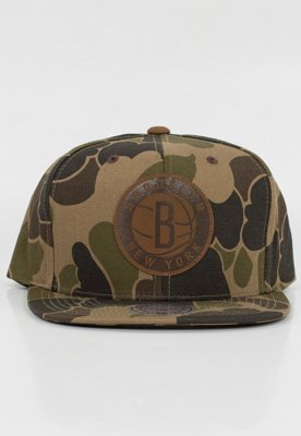 Snap Mitchell & Ness NBA Lux Camo Brooklyn Nets