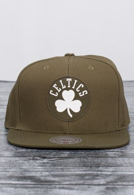 Snap Mitchell & Ness NBA Serve Boston Celtics khaki