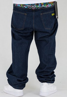 Spodnie SSG Cans Baggy dark blue