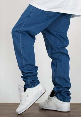 Spodnie SSG Stretch Straight Fit jeans Guma light