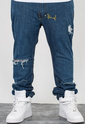 Spodnie Stoprocent Slim Low Split Jeans