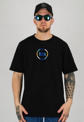 T-Shirt SSG Circle Colors czarny
