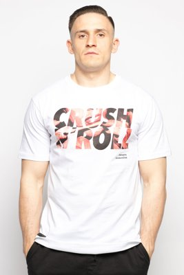 T-shirt Diamante Wear Crush & Roll biały