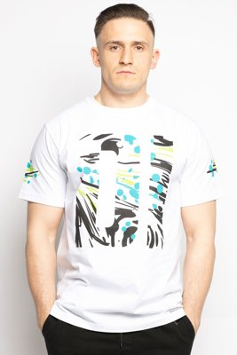 T-shirt Diamante Wear Pollock biały