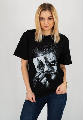 T-shirt Diamante Wear Why So Serious?! Unisex czarny