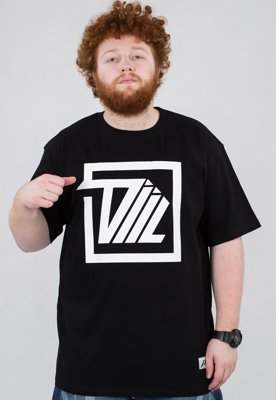 T-shirt Diil Next Level Square czarny