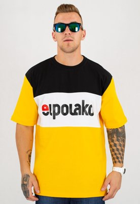 T-shirt El Polako Elpo New żółty