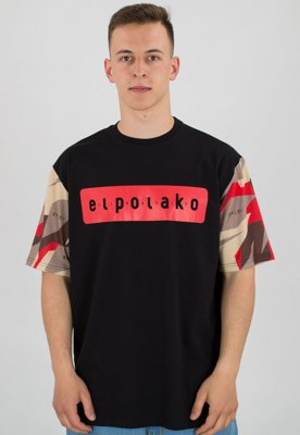 T-shirt El Polako Sleeve Triangle Moro Red