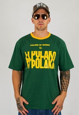 T-shirt El Polako Slotmachine zielony