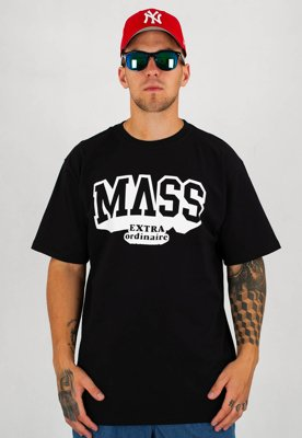 T-shirt Mass Hassle czarny