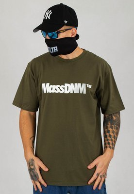 T-shirt Mass Shock khaki