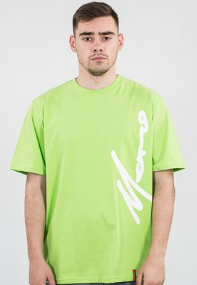 T-shirt Moro Sport Big Side Paris zielony