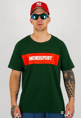 T-shirt Moro Sport Moro Background zielony