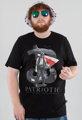 T-shirt Patriotic PW Flaga czarny