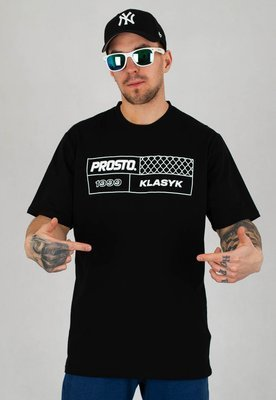 T-shirt Prosto Fencesquare czarny