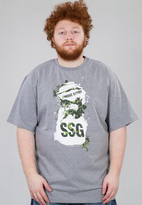 T-shirt SSG Spray szary