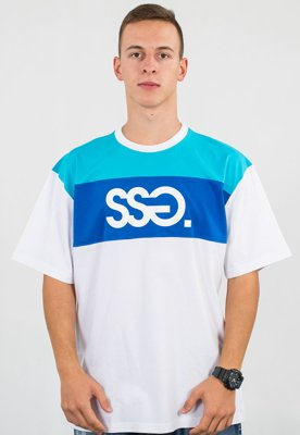 T-shirt SSG Triple Colors biały