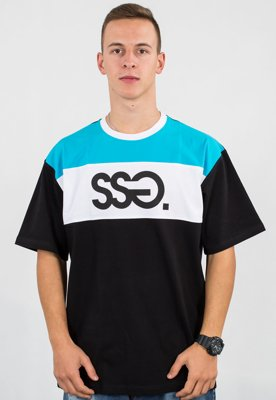 T-shirt SSG Triple Colors czarny