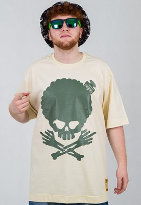 T-shirt Stoprocent Afro beige