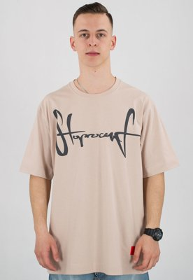 T-shirt Stoprocent Baggy Tag 18 beige