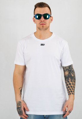 T-shirt Stoprocent Slim Hundred biały